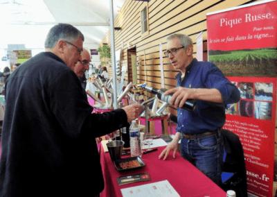 """<a href=""""https://www.terredevins.com/actualites/salon-de-rochelle-pique-russe-vin-pays-cognac/"""">Pique Russe, un vin au pays du Cognac</a>"""