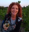 Sarah James Lageat at Pique Russe vineyard