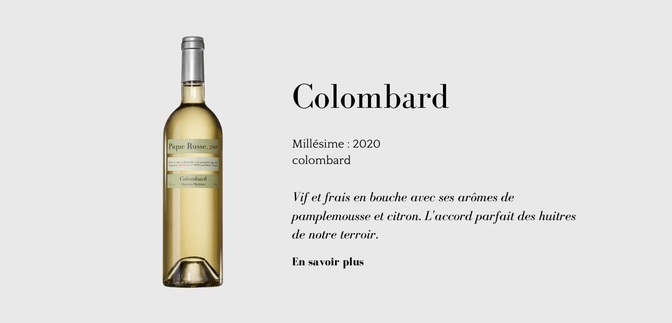 Colombard_vin_du domaine_Pique Russe