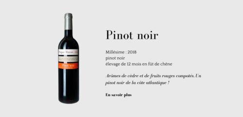 Pinot noir,  un vin de Pique Russe